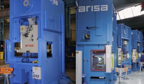 Prensas manuales • 160 - 1000 ton
